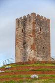 Ancient fortress tower monument in Tangier, Morocco — Stock Photo