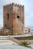 Ancient fort tower monument in Tangier, Morocco — Stock Photo
