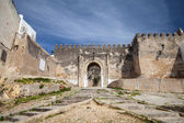 Ancient fortress in Madina. Old part of Tangier town, Morocco — Stock Photo