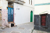 Streets of old Medina. Historical central part of Tangier, Morocco — Stock Photo
