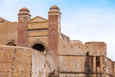 Ancient fortress in old Medina. Tangier, Morocco — Stock Photo