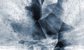 Abstract dark digital 3d polygonal surface background texture — Photo