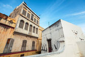 Living houses in Medina. Old Tangier, Morocco — Stock Photo