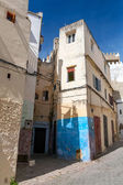 Narrow streets of old Medina of Tangier, Morocco — Stock Photo