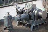 Yay ırgat gemi güvertesinde ait closeup fotoğraf — Stok fotoğraf