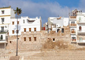 Ancient fortress and living houses of Medina. Tangier, Morocco — Stock Photo
