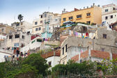 Traditional living houses of old Medina. Tangier, Morocco — Stock Photo