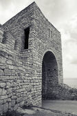 Ancient fortress on Kaliakra headland, Bulgaria, Black Sea Coast — Stock Photo