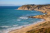 Landscape of Gibraltar strait, Morocco. Atlantic Ocean coast — Stock Photo