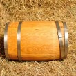 Stock Photo: wooden barrel
