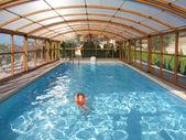 Indor swiming pool — Stock Photo