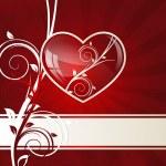 redemoinho-coração — Vetor de Stock  #8762461