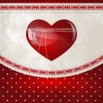 Ribbon heart — Stock Vector #8762673