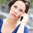 Royalty-Free Stock Photo: Young woman phoning