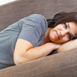 Rest and cute smile — Stock Photo