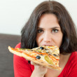 Stock Photo: Pretty gluttony