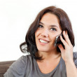 Young woman phoning — Stock Photo