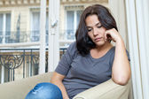 Young woman and sadness — Stock Photo