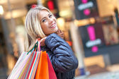 Young shopper — Stock Photo