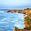 Pen Be cliffs in Brittany - France - Stock Photo