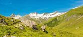 Pejzaż we francuskich alpach — Zdjęcie stockowe