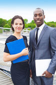 Confident business people — Stock Photo