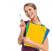 Estudiante alegre — Foto de Stock