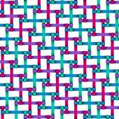 Seamless ribbons — Stock Vector