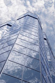 Glass and sky — Stock Photo