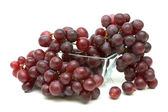 Grapes isolated on white background — Stock Photo