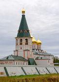 Iversky monastery in Valdai, Russia. — Stock Photo