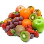 Still life. fresh fruit on a white background. — Stock Photo #19025945