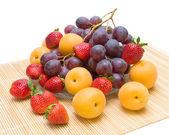 Fresh fruit closeup — Stock Photo