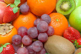 Fruit and berries close-up — Stok fotoğraf