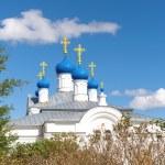 Russia, Tver region. Temple complex in the village of Zavidovo. — Stock Photo