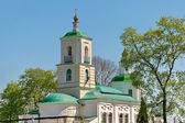 Baptist Church cemetery.  Russia, Tula region, city Venev. — Stock Photo