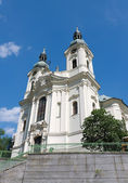 Karlovy Vary Maria-Magdalena church — Stock Photo