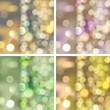 Blurred lights backgrounds — Stock Vector #16229823
