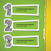 Infographic set — Stock Vector