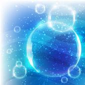 Soap bubbles — Stock Vector
