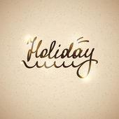 Holiday, vector eps 10 — Stock Vector