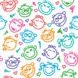 Royalty-Free Stock Imagen vectorial: Funny faces