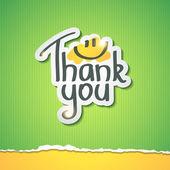 ευχαριστούμε — Διανυσματικό Αρχείο
