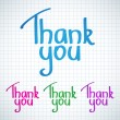 Thank You - Image vectorielle