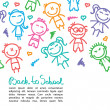 Kid background — Vetorial Stock #28860561