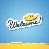 Welcome — Stock Vector