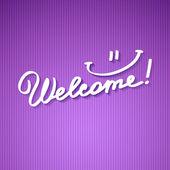 Welcome — Stock Vector