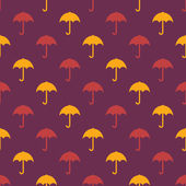 Umbrella pattern — Stock Vector