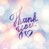Thank you — Stock Vector