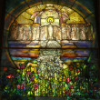Beautiful Stained Glass Church Window — Stock Photo #20791151